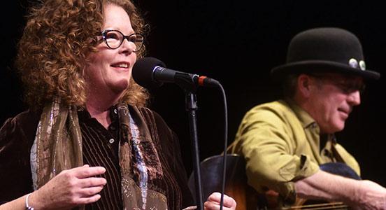 Molly O'Brien and Rich Moore in Santa Fe